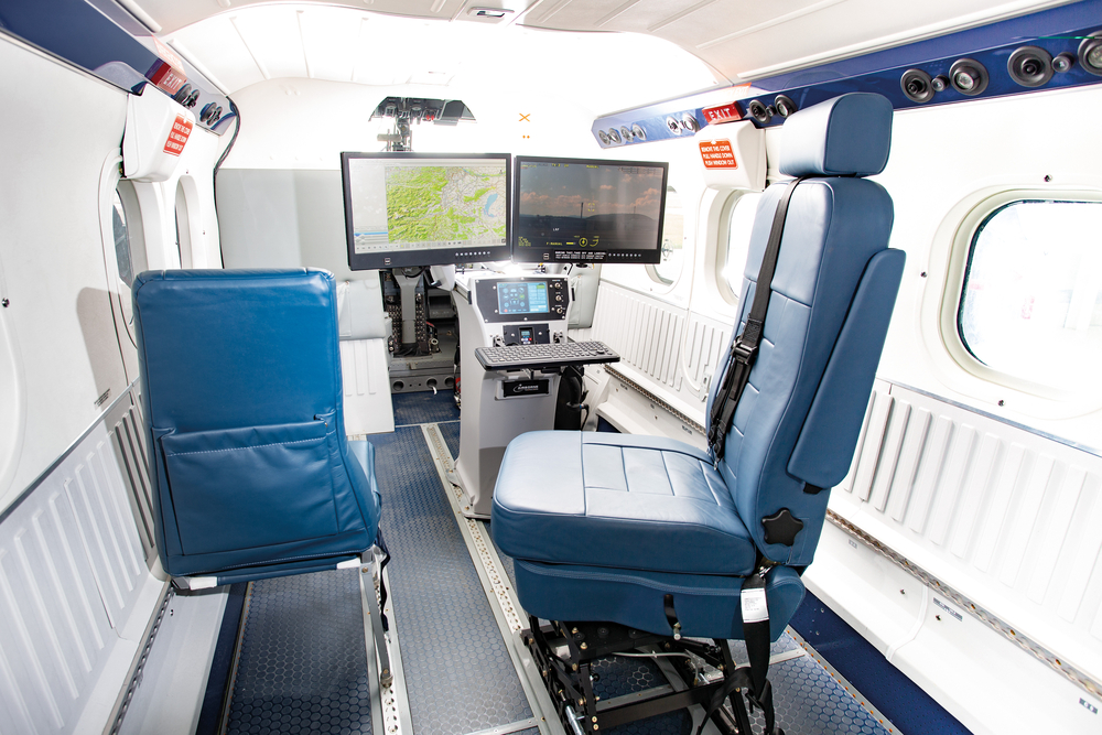 workstation Twin otter